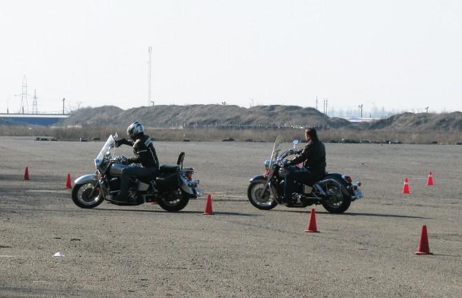 Восстановление навыков езды на мотоцикле