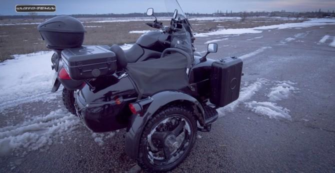 Suzuki с коляской ручной работы